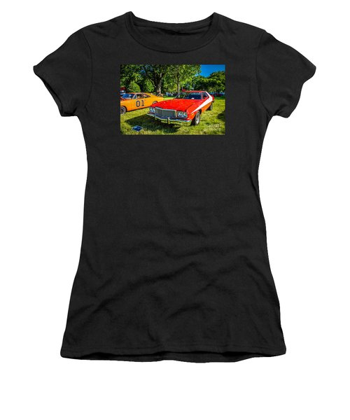 Starsky And Hutch Ford Gran Torino Women's T-Shirt (Athletic Fit)