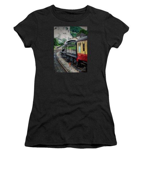 Steam Train 3802 Women's T-Shirt