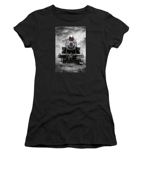 Steam Train Dream Women's T-Shirt (Athletic Fit)