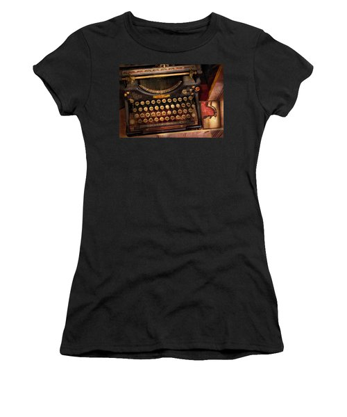 Steampunk - Just An Ordinary Typewriter  Women's T-Shirt