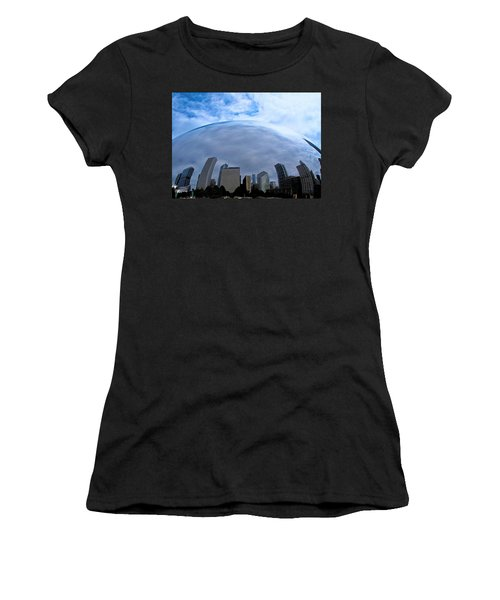 Steel Globe Women's T-Shirt (Athletic Fit)