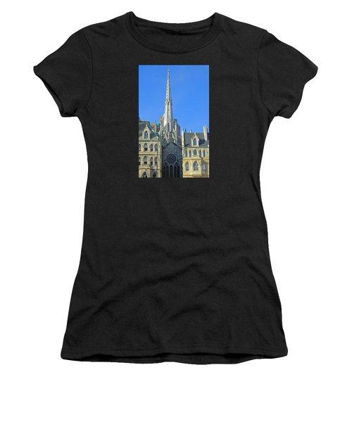 Steeple Of Grace Episcopal Church Nyc Women's T-Shirt