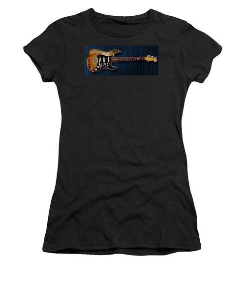 Stevie Ray Vaughan Stratocaster Women's T-Shirt