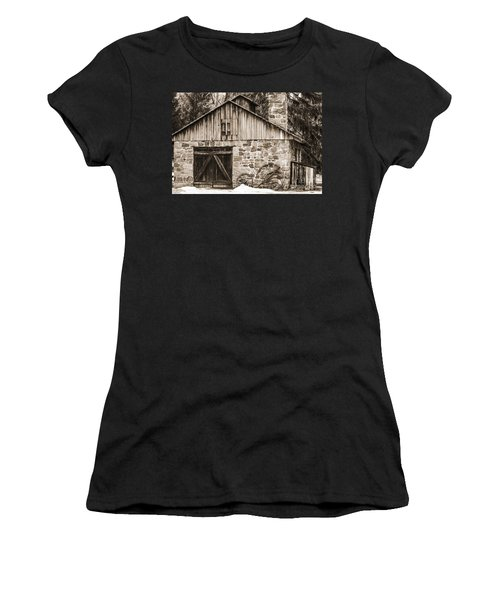 Stone Cabin 2 Women's T-Shirt (Athletic Fit)