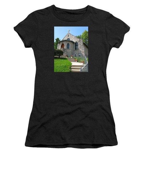 Stone Church Women's T-Shirt (Athletic Fit)