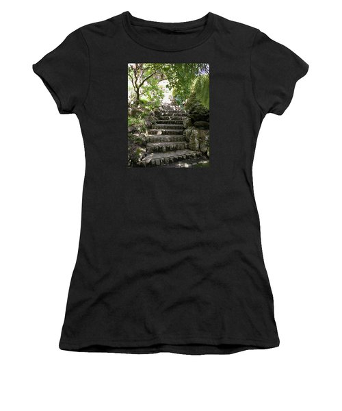 Stone Steps Women's T-Shirt (Athletic Fit)