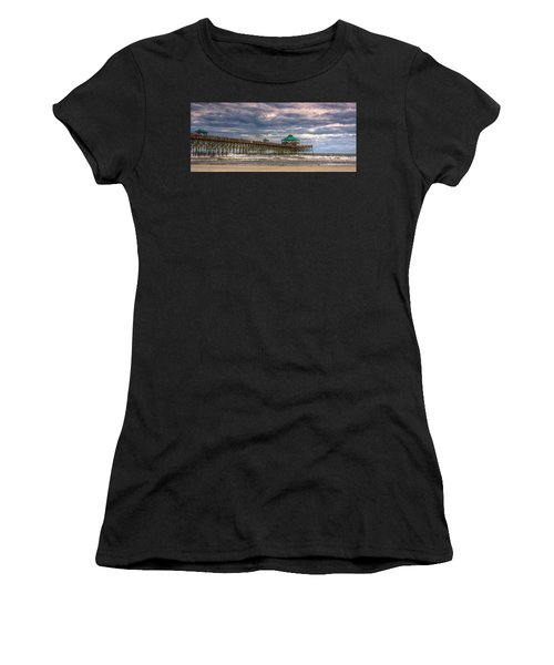 Storm Clouds Approaching - Hdr Women's T-Shirt (Athletic Fit)