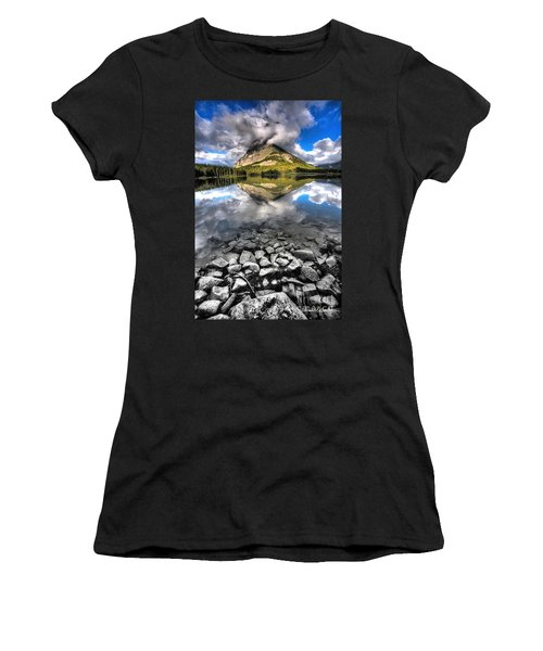 Storm Mountain II Women's T-Shirt (Athletic Fit)
