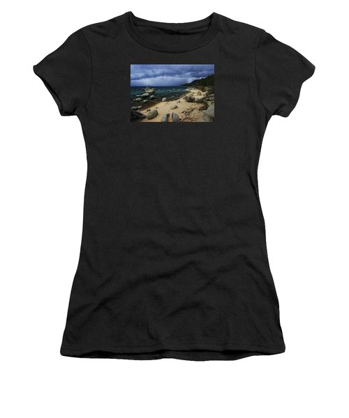 Women's T-Shirt (Junior Cut) featuring the photograph Stormy Days  by Sean Sarsfield