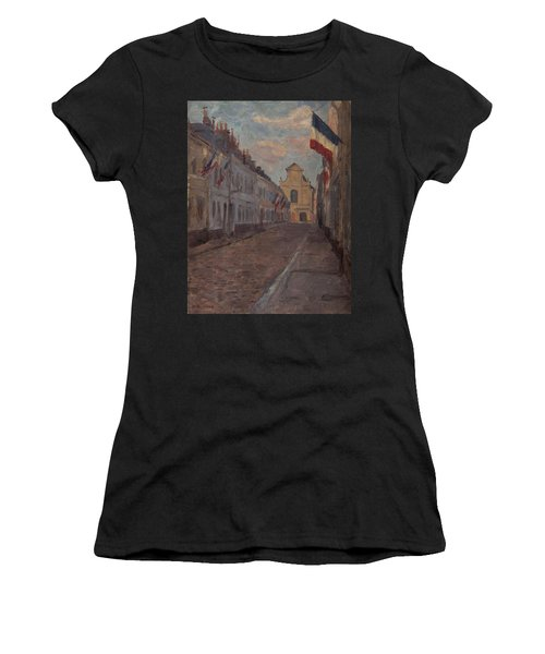 Street Decked With Flags Women's T-Shirt