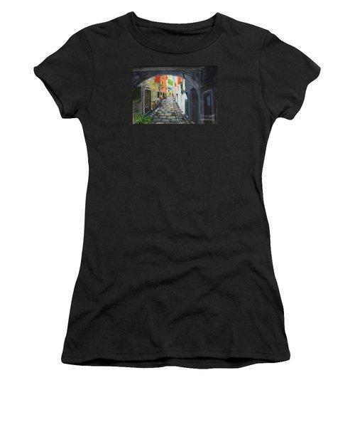 Street View 2 From Pula Women's T-Shirt