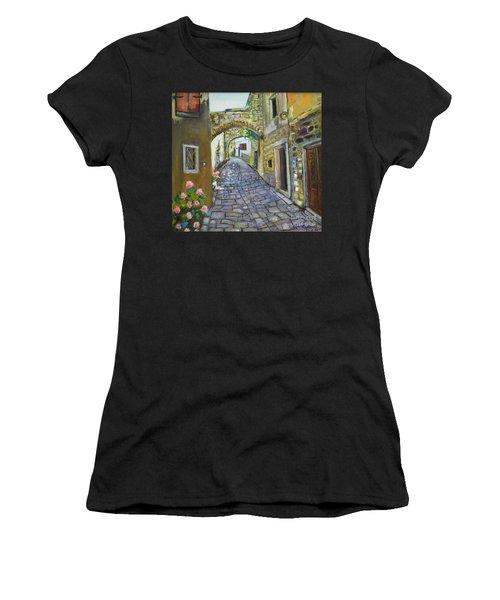 Street View In Pula Women's T-Shirt