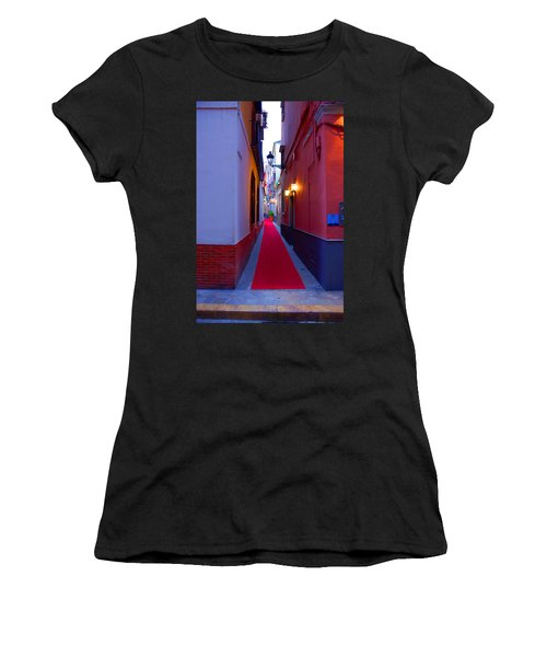 Streets Of Seville - Red Carpet  Women's T-Shirt (Athletic Fit)