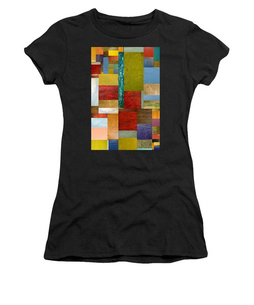 Strips And Pieces Lll Women's T-Shirt