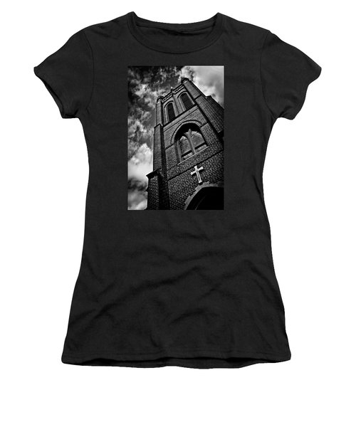 Strong Tower Women's T-Shirt (Athletic Fit)
