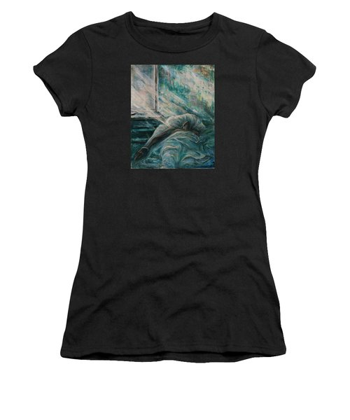 Struggling... Women's T-Shirt (Athletic Fit)