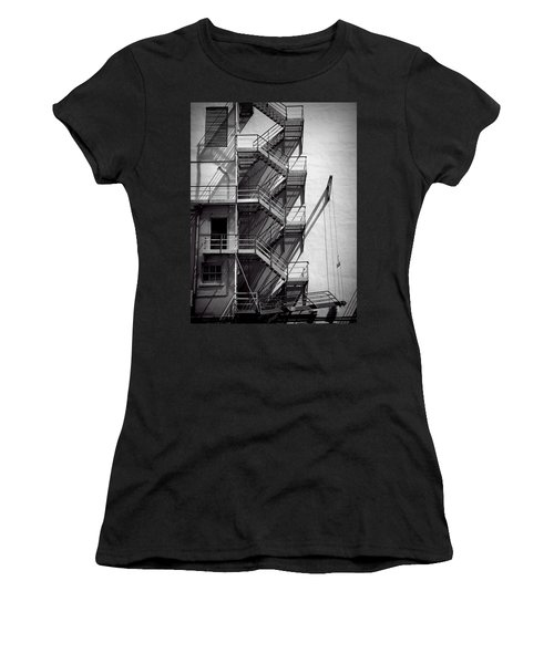 Study Of Lines And Shadows Women's T-Shirt