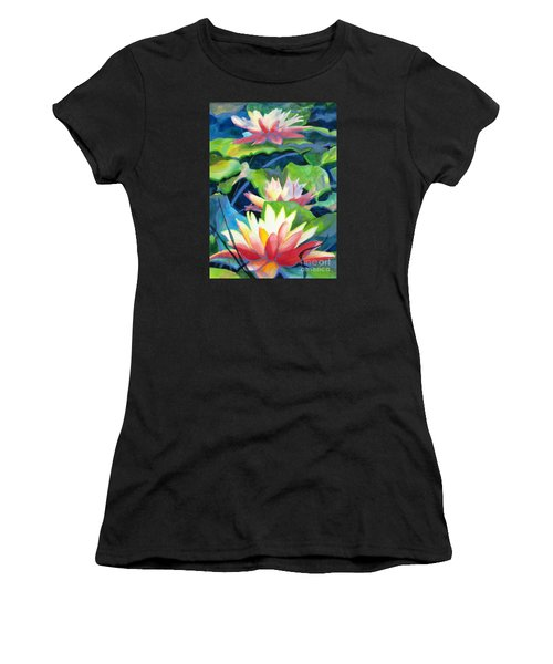 Styalized Lily Pads 3 Women's T-Shirt