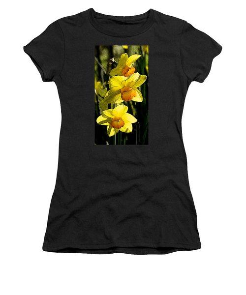 Sumi-e In Yellow Women's T-Shirt