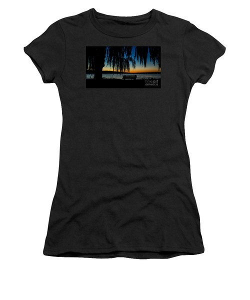Summer Evening At Stewart Park Women's T-Shirt (Athletic Fit)