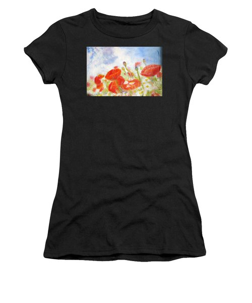Summer Flowers Women's T-Shirt (Athletic Fit)