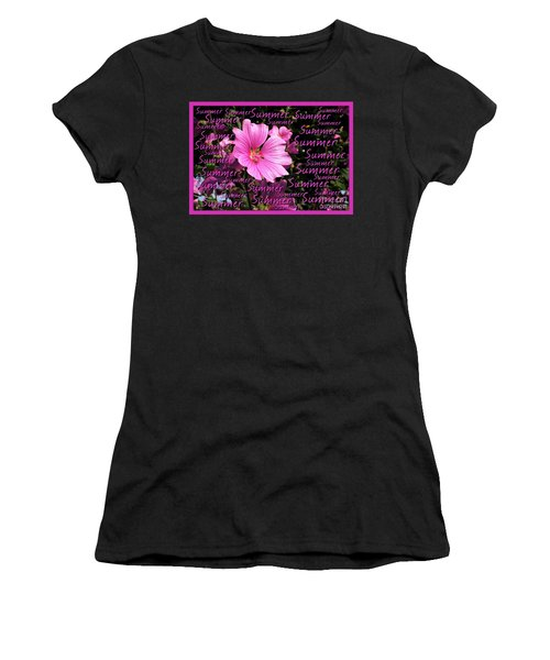 Summer Greetings Women's T-Shirt (Athletic Fit)