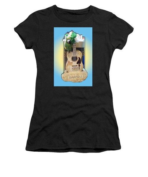 Summer Guitar Women's T-Shirt (Athletic Fit)