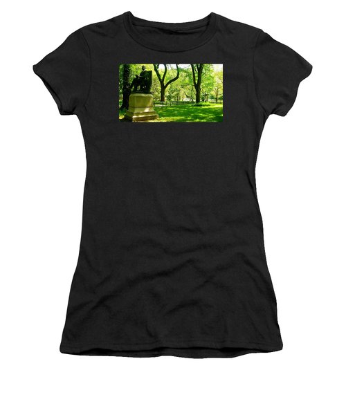 Summer In Central Park Manhattan Women's T-Shirt