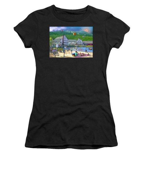 Summer In Waterville Valley Women's T-Shirt