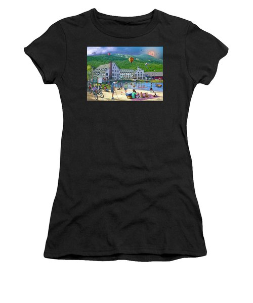 Summer In Waterville Valley Women's T-Shirt