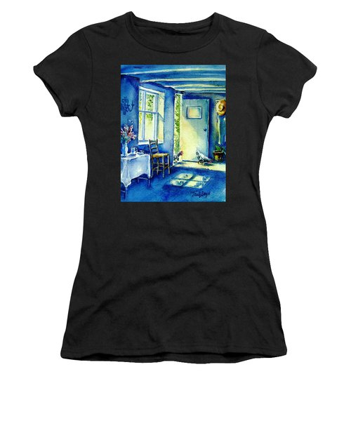 Summer Morning Visitors  Women's T-Shirt (Athletic Fit)