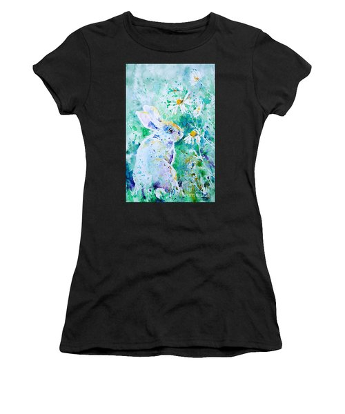 Summer Smells Women's T-Shirt (Athletic Fit)