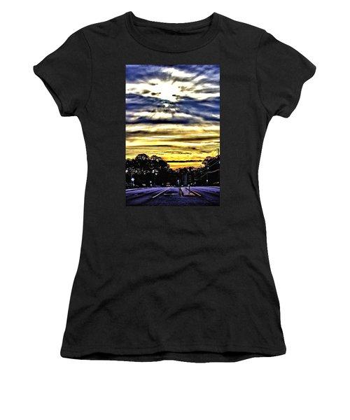 Sun Burst Women's T-Shirt