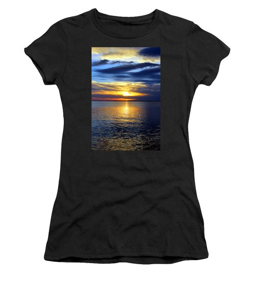 Sun Down South Women's T-Shirt (Athletic Fit)