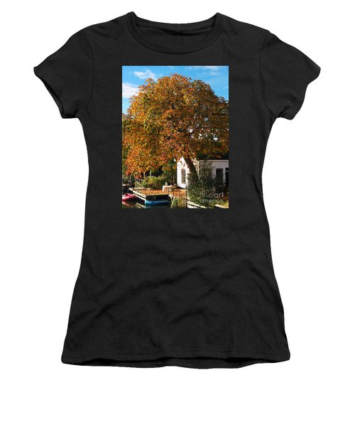 Sun Leaves Women's T-Shirt (Athletic Fit)