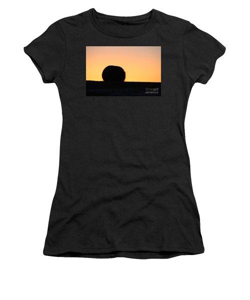 Sun Rise Silhouette Women's T-Shirt