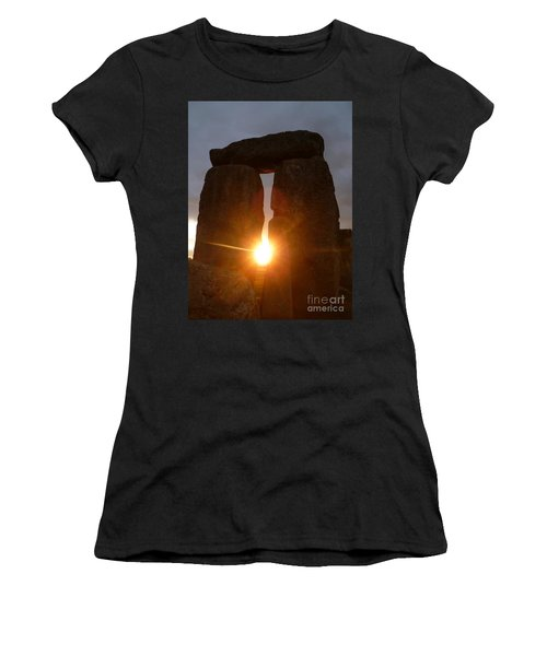 Sunburst Women's T-Shirt (Junior Cut) by Vicki Spindler