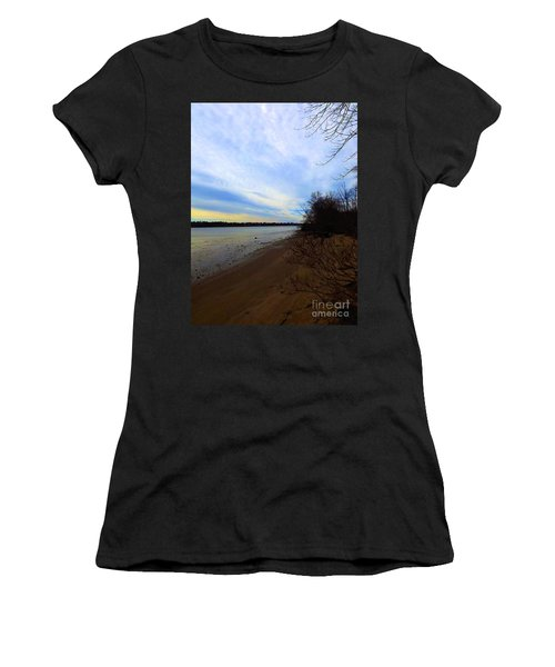 Sundown By The Side Of The River Women's T-Shirt
