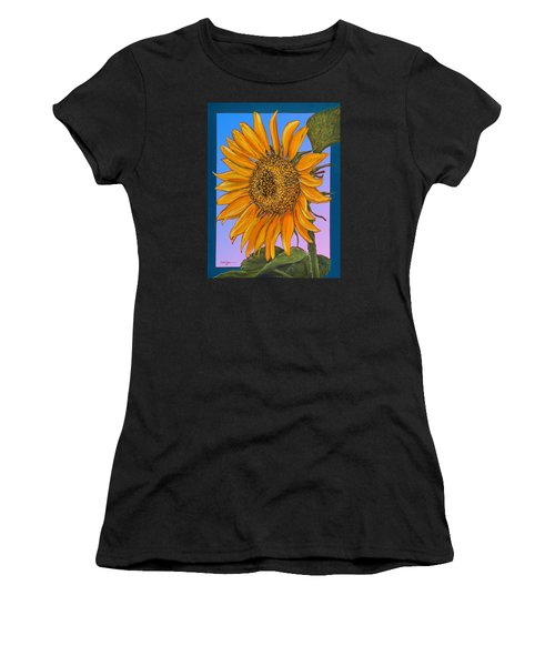 Da154 Sunflower By Daniel Adams Women's T-Shirt