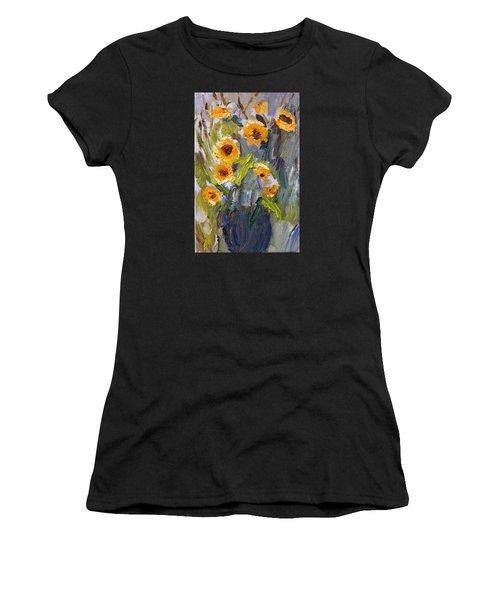 Sunflower Bouquet Women's T-Shirt (Athletic Fit)