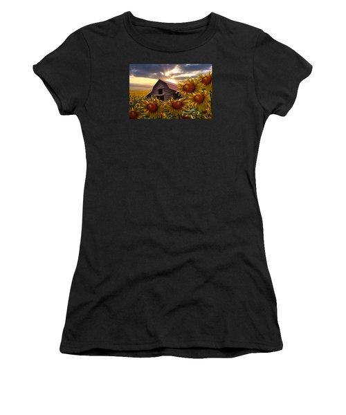Sunflower Dance Women's T-Shirt