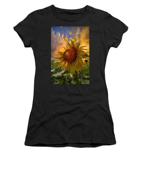Sunflower Dawn Women's T-Shirt