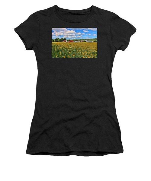 Sunflower Nirvana 17 Women's T-Shirt