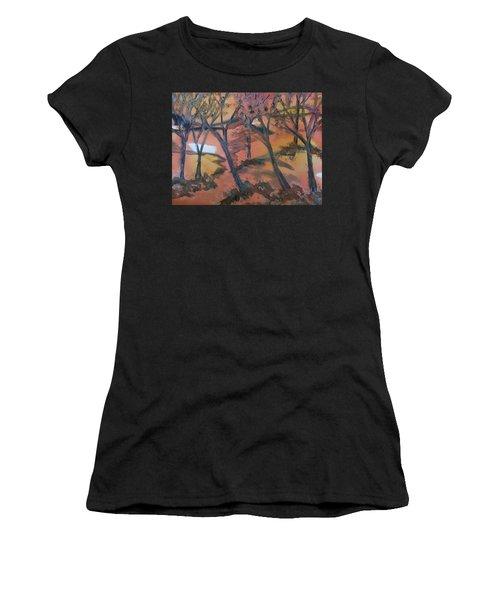 Sunlit Forest Women's T-Shirt