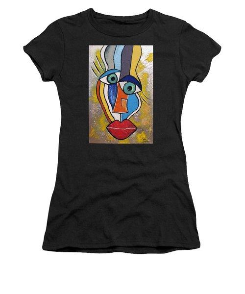Sunny Face Women's T-Shirt