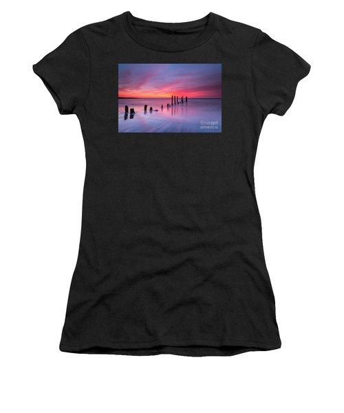 Sunrise At Deal Nj Women's T-Shirt (Athletic Fit)