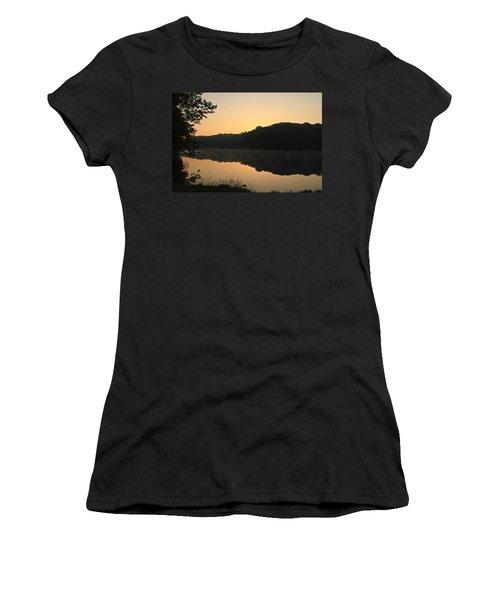 Sunrise At Rose Lake Women's T-Shirt