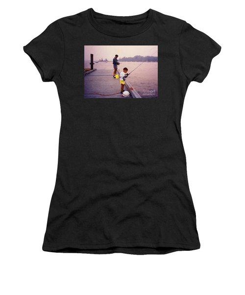 Sunrise Fishing Women's T-Shirt