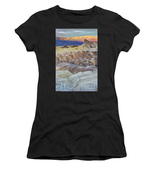 Sunrise In Death Valley Women's T-Shirt