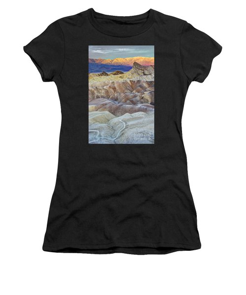 Sunrise In Death Valley Women's T-Shirt (Athletic Fit)